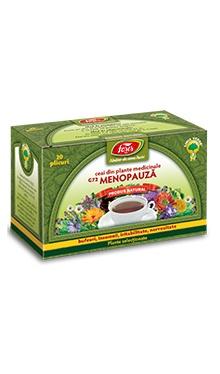 Ceai menopauză, doze - Fares