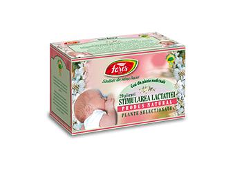 Ceai stimularea lactației, doze - Fares