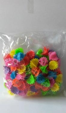 Cleme păr mici, colorate