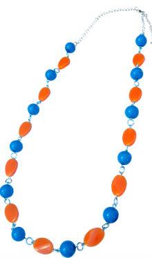 Colier Blue-Orange