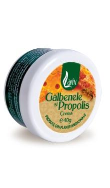 Cremă cu gălbenele și propolis - Larix