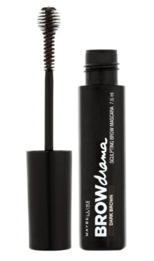Mascara pentru sprancene Brow Drama Dark Brown - Maybelline