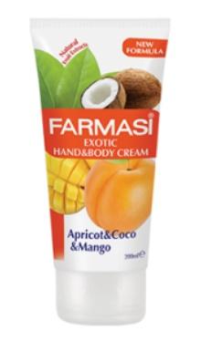 Loțiune pentru mâini și corp Fruity Line Exotic - Farmasi