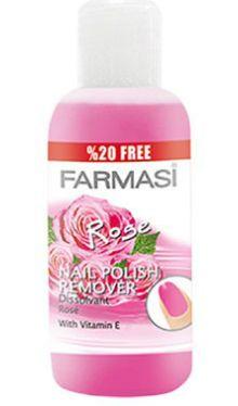 Dizolvant pentru lac de unghii Rose - Farmasi