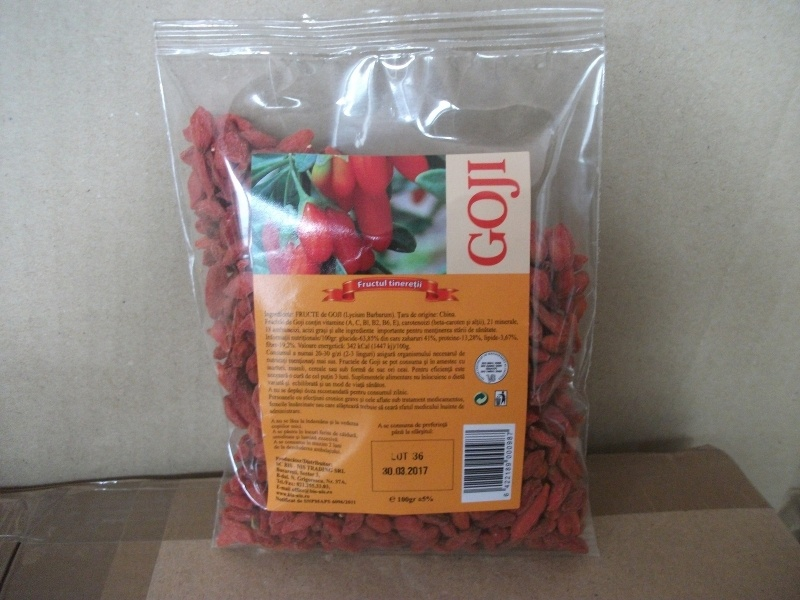Fructe goji berry