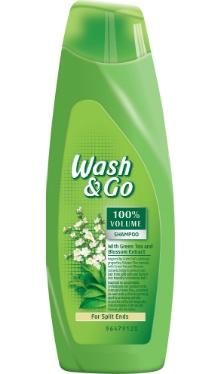 Şampon de păr cu extract de Ceai Verde - Wash & Go