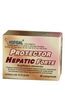 Protector hepatic forte - Hofigal