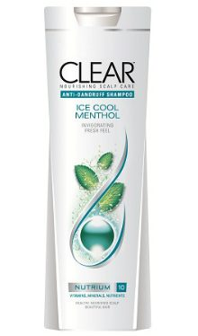 Şampon Ice Cool Menthol - Clear