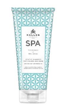 Kallos Spa șampon pentru volum și strălucire cu sare de mare și ulei de neroli