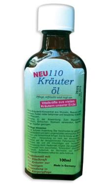 Ulei cu 110 plante - Kräuter öl 110