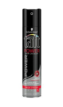 Lac fixativ mega strong, power caffeine - Taft