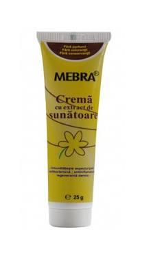 Cremă cu extract de sunătoare - Mebra