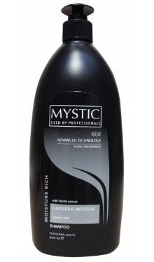 Șampon pentru păr gras - Mystic