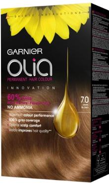 Vopsea de păr Olia 7.0 Dark Blonde - Garnier
