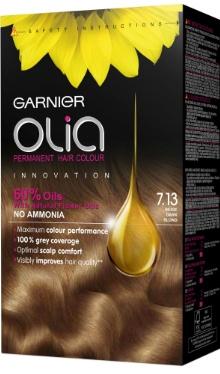 Vopsea de păr Olia 7.13 Dark Beige Blonde - Garnier
