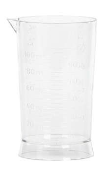 Pahar din plastic, gradat 706510