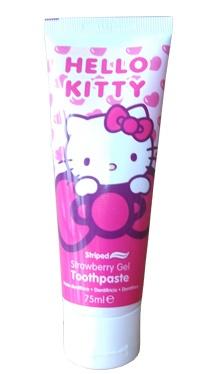 Pastă de dinți hello kitty