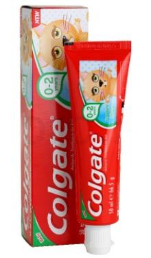 Pastă de dinți pentru copii 0-2 ani - Colgate