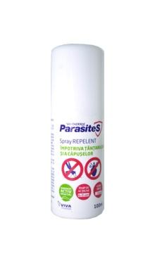 Spray repelent împotriva țânțarilor și a căpușelor - Santaderm ParasiteS