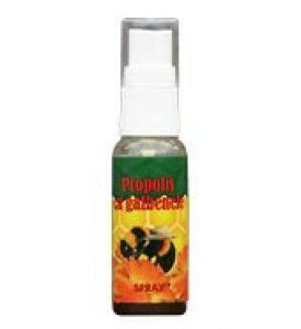 Spray cu propolis si galbenele
