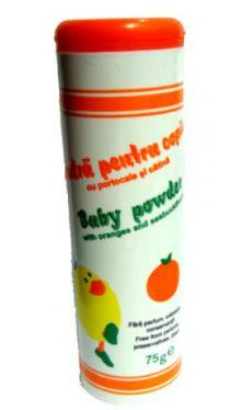 Pudră pentru copii cu portocale şi cătină - Mebra