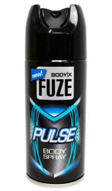 Deodorant spray Fuze Pulse