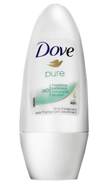 Deodorant Roll-on Pure - Dove