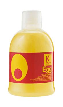 Şampon cu ou pentru păr uscat şi normal - Kallos