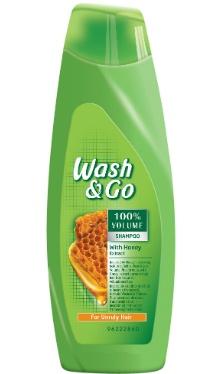 Șampon cu miere - Wash&Go
