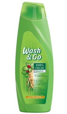 Șampon ginseng - Wash&Go