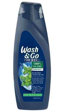Șampon menthol, bărbați - Wash&Go