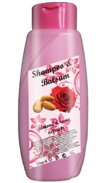 Șampon și balsam cu Trandafiri