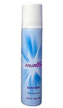 Deodorant spray Insette Saphire