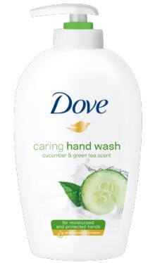 Săpun lichid cu extract de castravete şi ceai verde - Dove