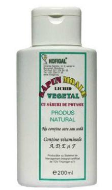 Săpun moale vegetal - Hofigal