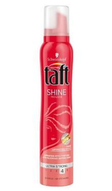 Spumă de păr Ultra Strong Shine - Taft