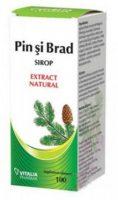 Sirop natural din muguri de pin și brad - Vitalia Pharma