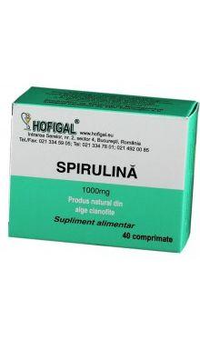 Spirulină 1000 mg - Hofigal