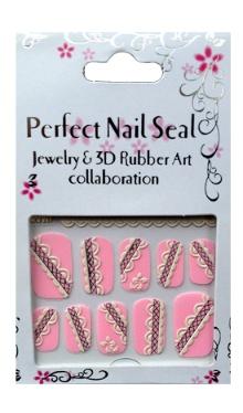 Decorațiuni unghii 3D Roz