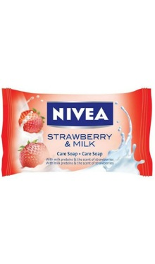 Săpun solid Strawberry & Milk - Nivea