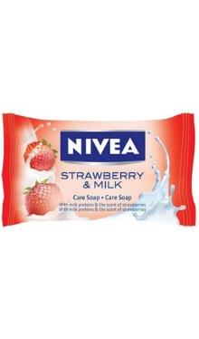 Săpun solid Strawberry & Milk - Nivea