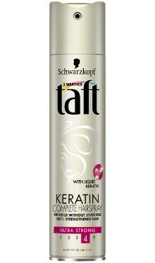 Lac fixativ Keratin Ultra Strong - Taft