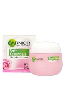 Cremă de zi pentru ten uscat/sensibil Soft Essentials - Garnier