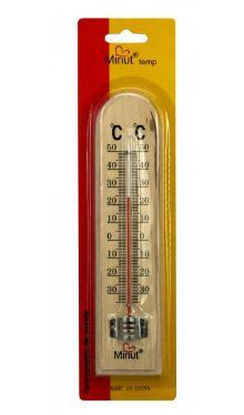 Termometre cameră lemn - Minut