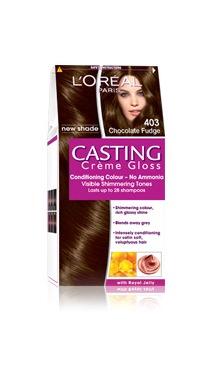 Vopsea de păr fără amoniac 403 - Loreal Casting Creme Gloss