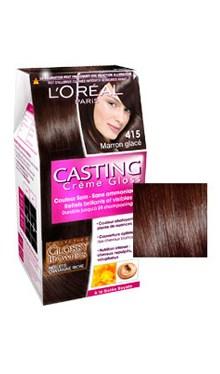 Vopsea de păr fără amoniac 415 - Loreal Casting Creme Gloss