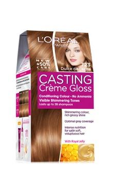 Vopsea de păr fără amoniac 723 - Loreal Casting Creme Gloss