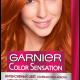 Vopsea de păr permanentă cu amoniac Garnier Color Sensation 7.40 Blond Închis Luminos