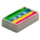 Vopsea pentru machiaj prostetic și efecte speciale, Diamond FX Splitcake Curcubeu neon, 28 g